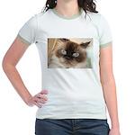 Himalayan Cat Jr. Ringer T-Shirt