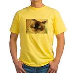 Himalayan Cat Yellow T-Shirt