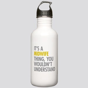 Its A Midwife Thing Stainless Water Bottle 1.0L