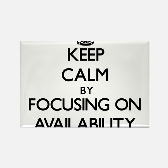 Keep Calm by focusing on Availability Magnets
