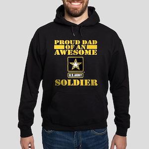 Proud U.S. Army Dad Hoodie (dark)