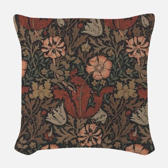 William Morris Compton Woven Throw Pillow