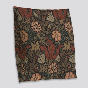 William Morris Compton Burlap Throw Pillow