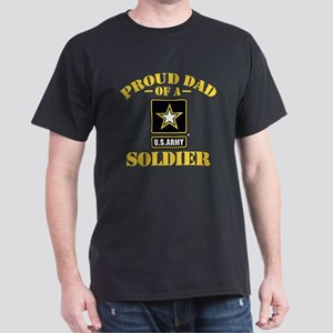 Proud U.S. Army Dad Dark T-Shirt