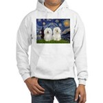 Starry Night / 2 Bolognese Hooded Sweatshirt