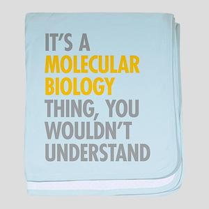 Molecular Biology Thing baby blanket