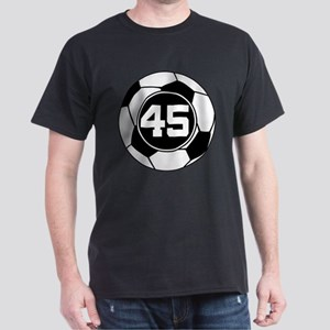 Soccer Number 45 Player T-Shirt