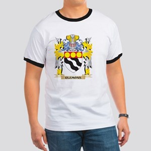 Clemons Coat of Arms - Family Crest T-Shirt