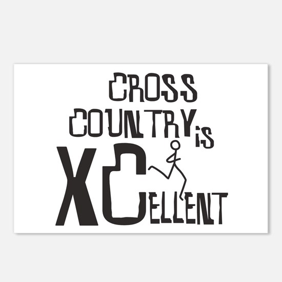 XC Cross Country Postcards (Package of 8)