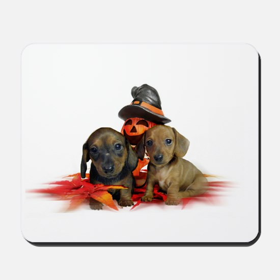 Halloween Dachshunds Mousepad