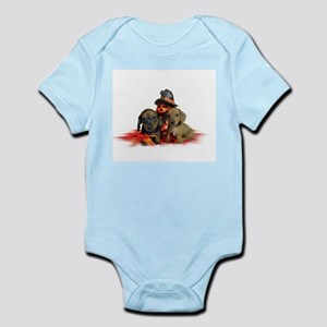Halloween Dachshunds Infant Bodysuit
