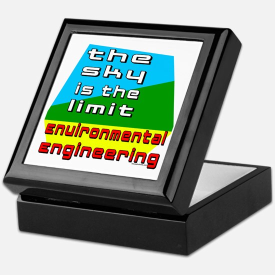 Environmental Engineering Keepsake Box