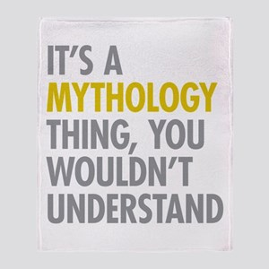 Its A Mythology Thing Throw Blanket
