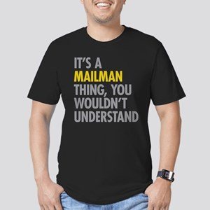 Its A Mailman Thing Men's Fitted T-Shirt (dark)