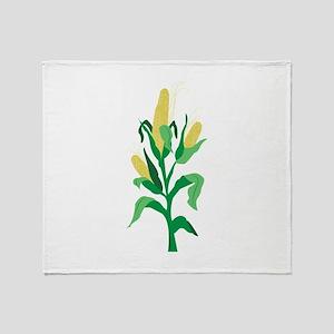 Corn Stalk Throw Blanket