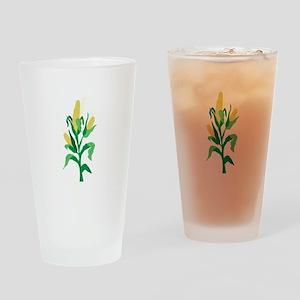 Corn Stalk Drinking Glass