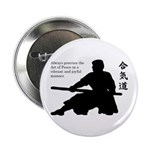"Aiki Jo 2.25"" Button (10 pack)"