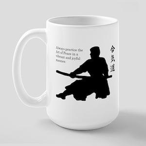 Aiki Jo Large Mug