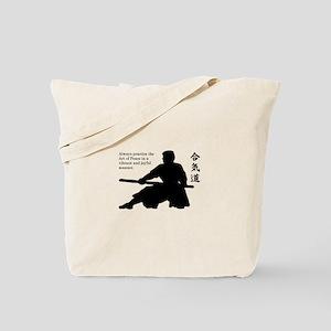 Aiki Jo Tote Bag