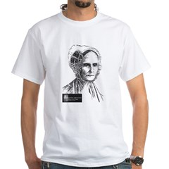 Lucretia Coffin Mott White T-Shirt