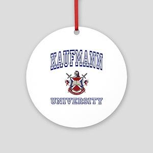 KAUFMANN University Ornament (Round)