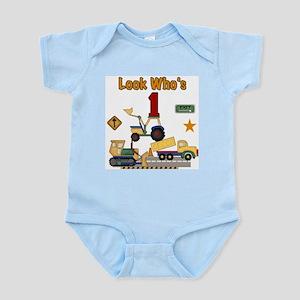Construction 1st Birthday Infant Creeper