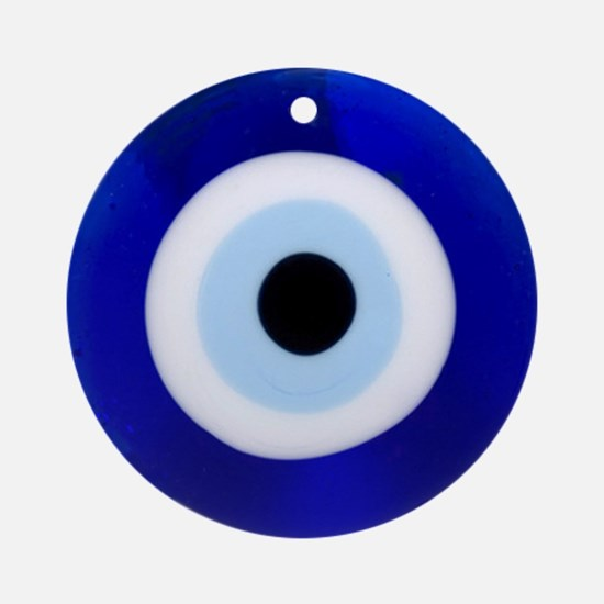 Nazar Amulet Evil Eye Protection Ornament (Round)