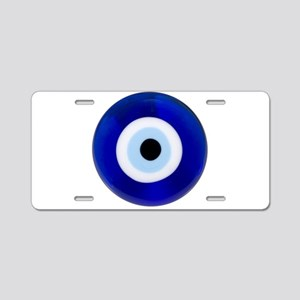 Nazar Amulet Evil Eye Protection Aluminum License