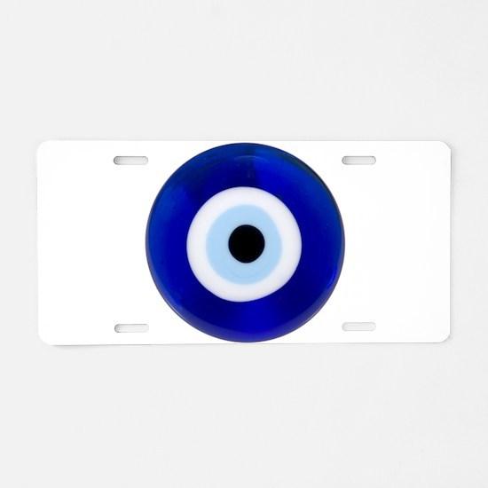Nazar Amulet Evil Eye Protection Aluminum License