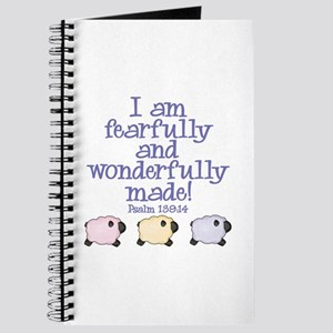 Wonderfully Made Journal