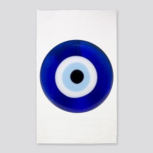 Nazar Amulet Evil Eye Protection 3'x5' Area Rug