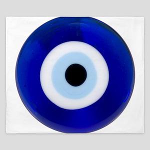 Nazar Amulet Evil Eye Protection King Duvet
