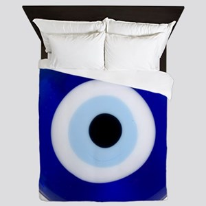 Nazar Amulet Evil Eye Protection Queen Duvet