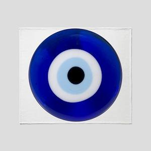 Nazar Amulet Evil Eye Protection Throw Blanket