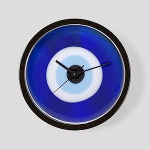 Nazar Amulet Evil Eye Protection Wall Clock