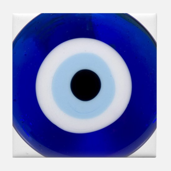 Nazar Amulet Evil Eye Protection Tile Coaster