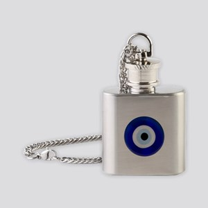 Nazar Amulet Evil Eye Protection Flask Necklace