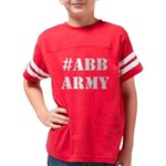 #abbarmy Kids Football T-Shirt