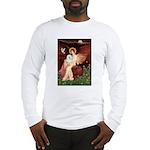 Seated Angel & Bolognese Long Sleeve T-Shirt