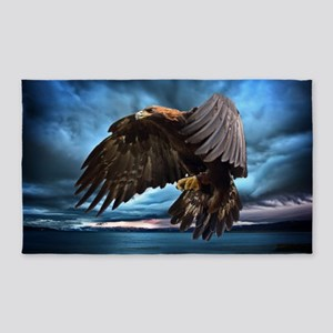 Eagle In Flight 3'x5' Area Rug