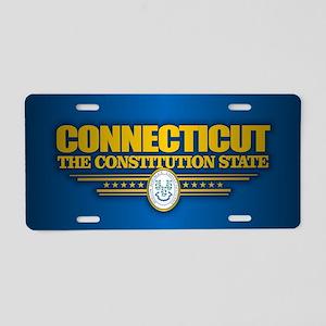 Connecticut (v15) Aluminum License Plate
