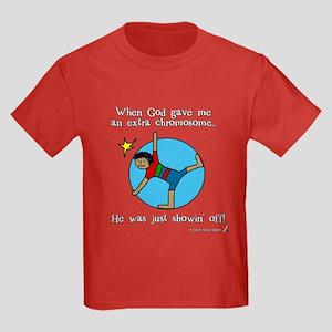 Showin' off Kids Dark T-Shirt