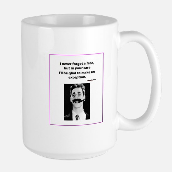 I never forget a face Mugs