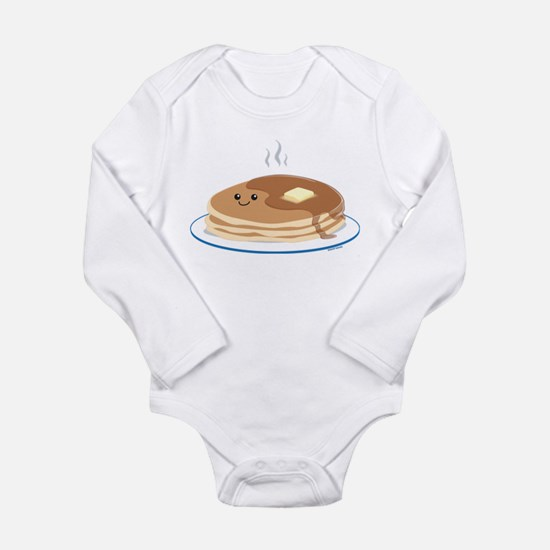 Cute Breakfast Long Sleeve Infant Bodysuit