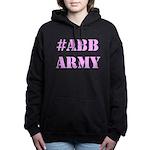 #abbarmy Pink Women's Hoodie Sweatshirt