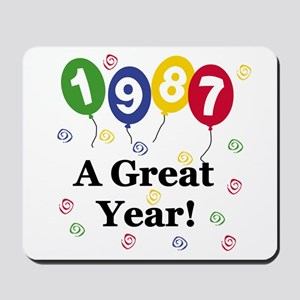 1987 A Great Year Mousepad