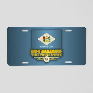 Delaware (v15) Aluminum License Plate