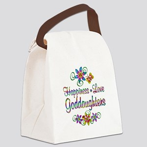 Goddaughters Love Canvas Lunch Bag