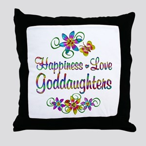 Goddaughters Love Throw Pillow