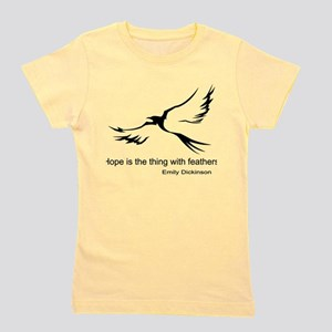 Hope, Emily Dickinson T-Shirt